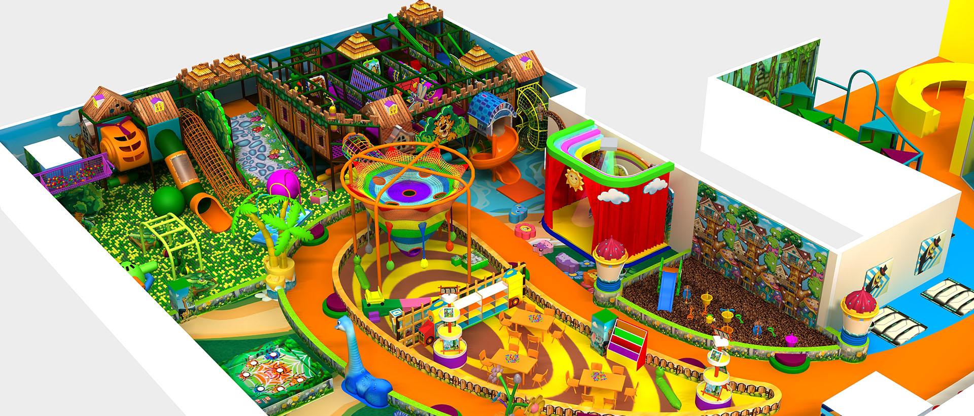 smiley indoor playground