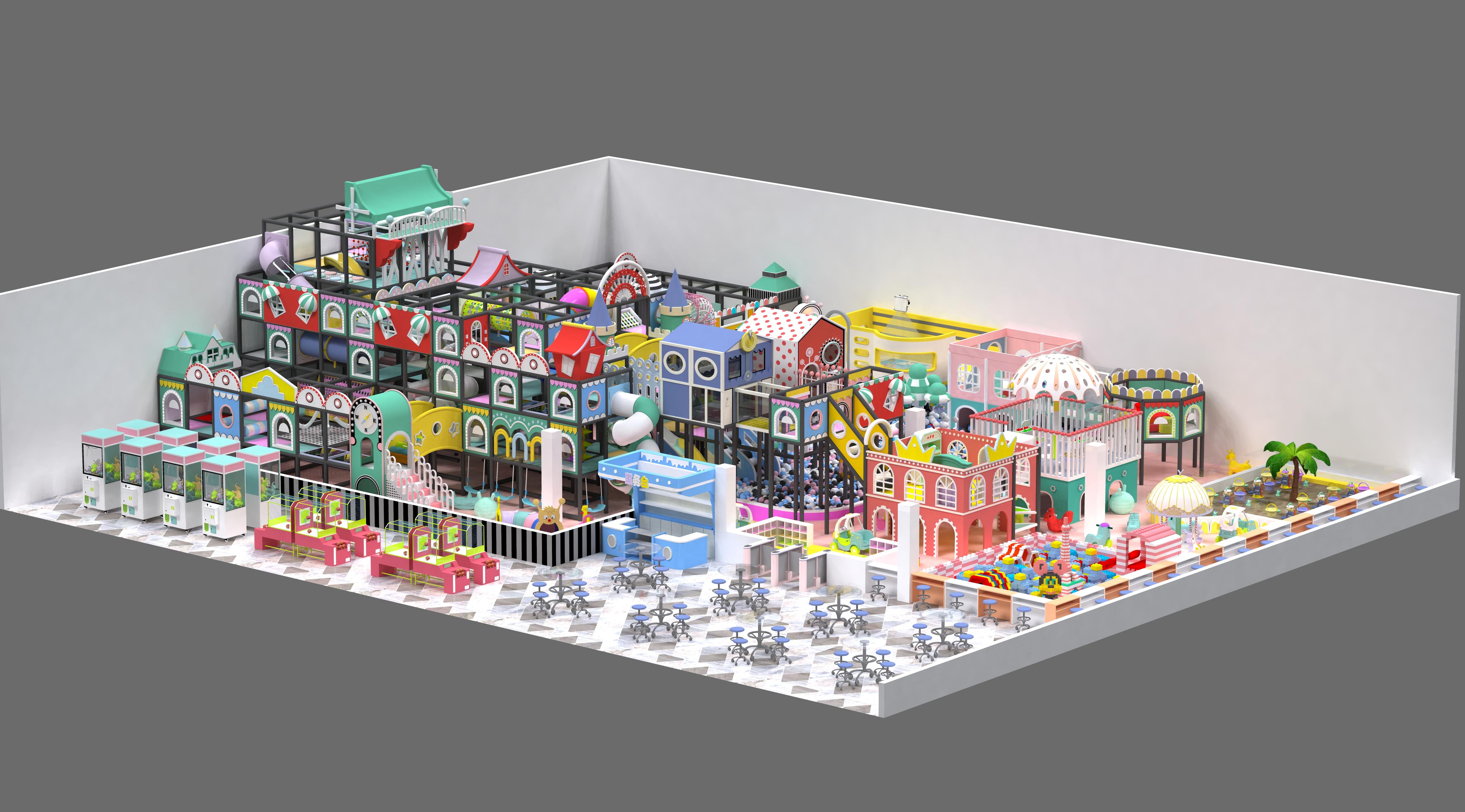 commercial indoor playground design